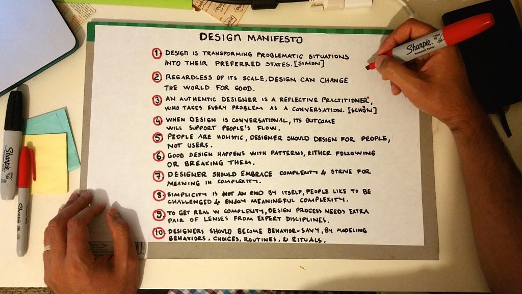Kursat - Design Manifesto